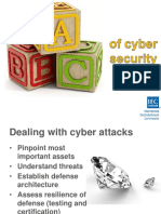 ABC of Cyber security for ICS system