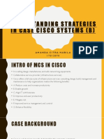 understanding strategies in CISCO systems