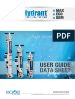 SkyHydrant- User Guide & Data Sheets 2015