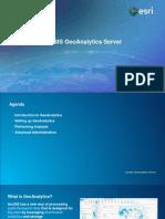 GeoAnalyticsServer10.5