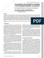 Development of Dual-sensitive Smart Polymers by Gr
