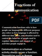 functions of communication.ppt