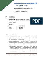 1.- Memoria descriptiva Deductivo N° 01