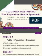 Sesi 2 - Population Health Approach