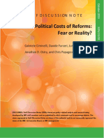 political costs of reforms