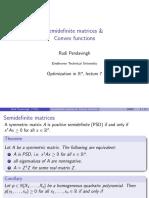 Positive Definite Matrix econometrics