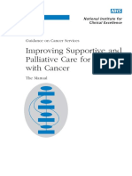 Supportive and Palliative Care the Manual 2