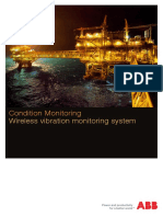 TP013 Wireless Vibration Monitoring System