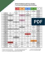 Academic Calendar July -Dec 2019 PG Programs