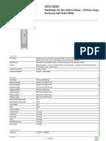 NetShelter SX Enclosures AR3100W APC