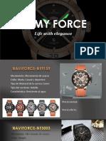 ARMY FORCE Catalogo de Relojes