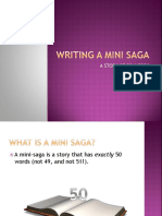Writing a Mini Saga.pptx
