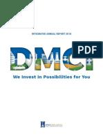 2018 DMCI Holdings Annual Report Web Version