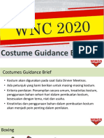 Costume guidance for party