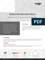 Edge CaseStudy Major American Telecommunication and Cable Provider