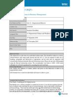 Assignment Brief OB A1_17BM
