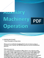 Auxiliary Machinery Operation-VSC