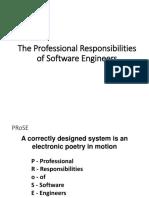 06-The Professional Responsibilities