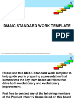 DMAIC Project Template
