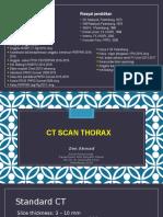 CTscan thorax