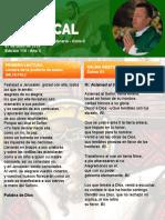 Hoja Dominical - Domingo 07 de Julio