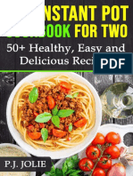 The Instant Pot Cookbook for Tw - P.J. JOLIE
