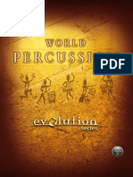 Evolution Series World Percussion Manual