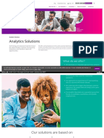 Analytics Solutions India