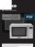 BlancoMicrowaveBMO280X New Manual