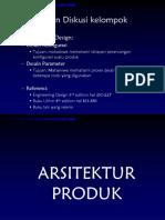 Week 6 Arsitektur Produk