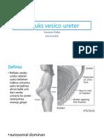 Refluks Vesico Ureter