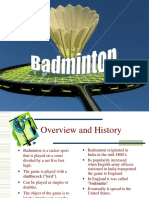 BADMINTON Power Point Presentation.ppt