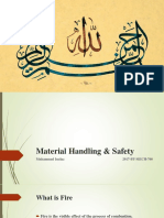 Material Handling and Safety  ppt