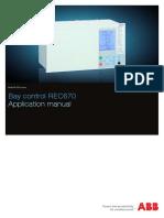 1MRK511230-UEN D en Application Manual REC670 1.2