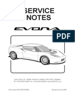 Lotus Evora Service Manual