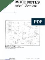 Lotus Elan.electrical Sections. Wiring Diagram
