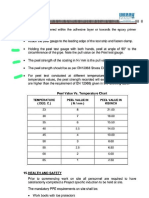 Peel Test Degree & Value