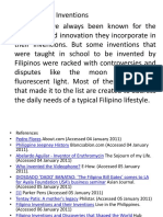 Philippines Great Inventions