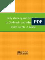 Early Warning Outbreaks