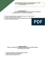 Acțiunile Prevăzute În Implementarea Planului de Aprofundare a Transparenței Și Asigurare a Accesului Cetățenilor Din Satul Gura Bîcului