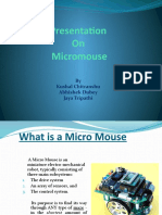 Micro Mouse Presentation