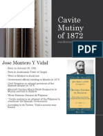 Cavite Mutiny of 1872, Spanish Account