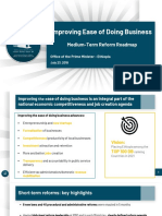 Improving doing business