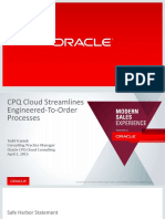 Cpq Cloud Streamlines ETO