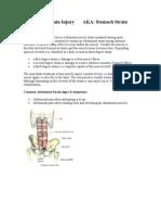 Abdominal Strain Injury AKA