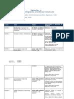 Cronograma de Clases Diplomatura UPPAG (Para El Campus)