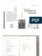 SOUZA João Introdução a Sociologia Da Educação João Valdir Alves de Souza