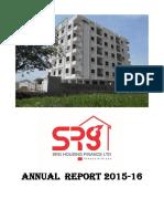 Srghfl Annual Report- 2015-16