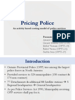 Pricing Police