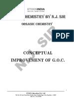 Conceptual Improvement of GOC Exercise
